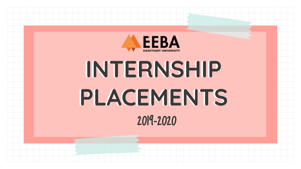 EEBA students' past internships